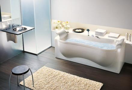 Loại bồn tắm phù hợp với không gian sang trọng