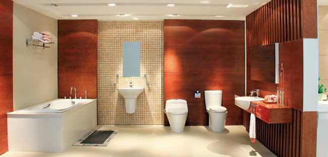 Thiết bị vệ sinh Toto – lựa chọn hàng đầu cho những thiết kế sang trong