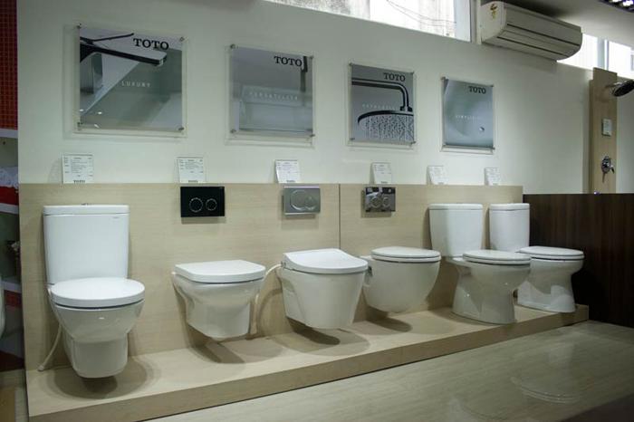 Khẳng định đẳng cấp của thiết bị vệ sinh TOTO