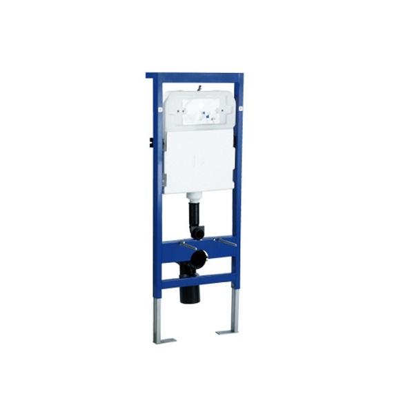 Két nước và khung âm tường kèm ống thải thẳng WH003TR