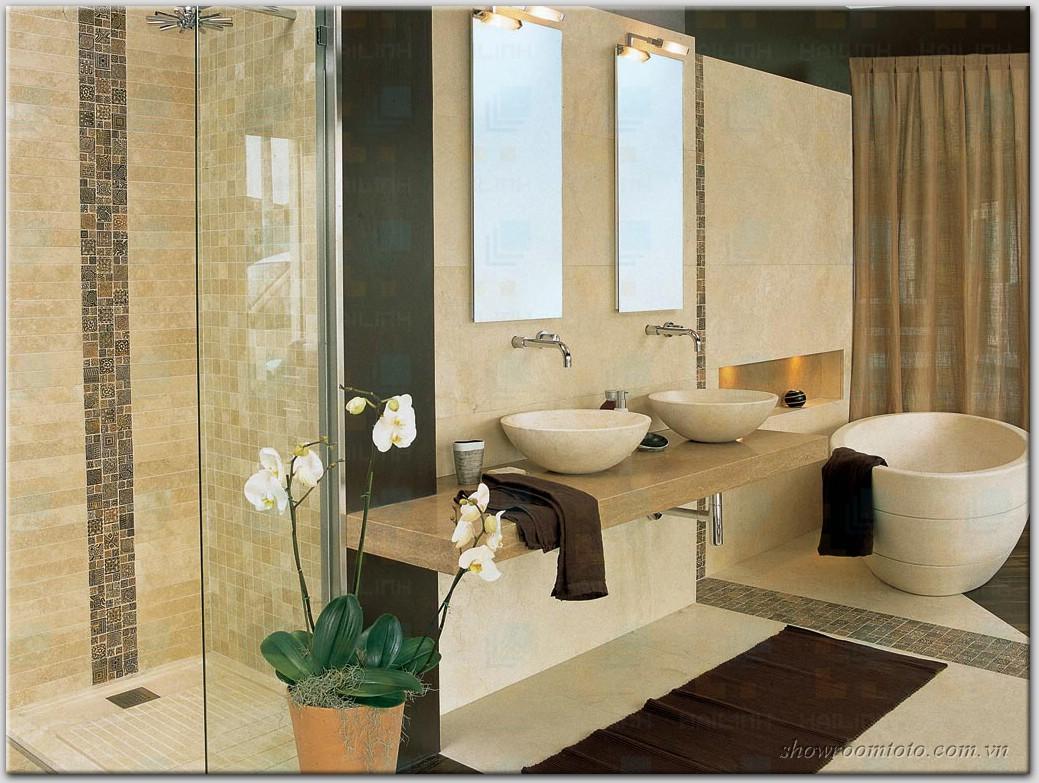 Kinh nghiệm phối các thiêt bị vệ sinh cho nội thất phòng tắm hoàn hảo