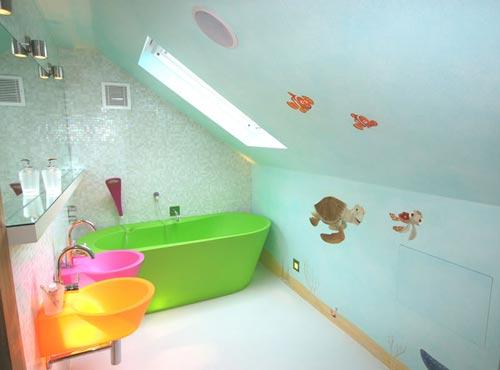 Phòng tắm cho trẻ em