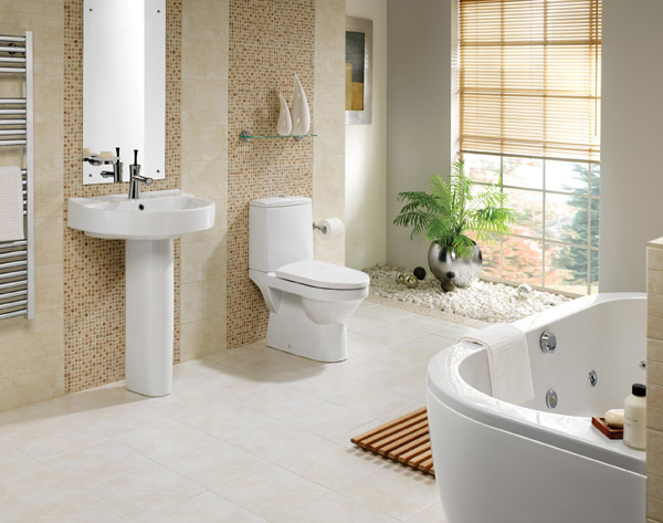 Thiết bị vệ sinh toto làm cho phòng tắm trở nên sang trọng