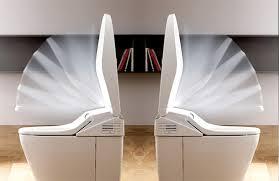 Minh họa tính năng dòng sản phẩm nắp rửa bàn cầu điện tử washlet toto cao cấp