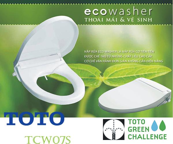 nắp rửa bồn cầu Toto ecowasher